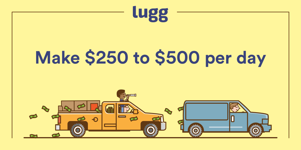 Lugg | Make money moving with your truck!
